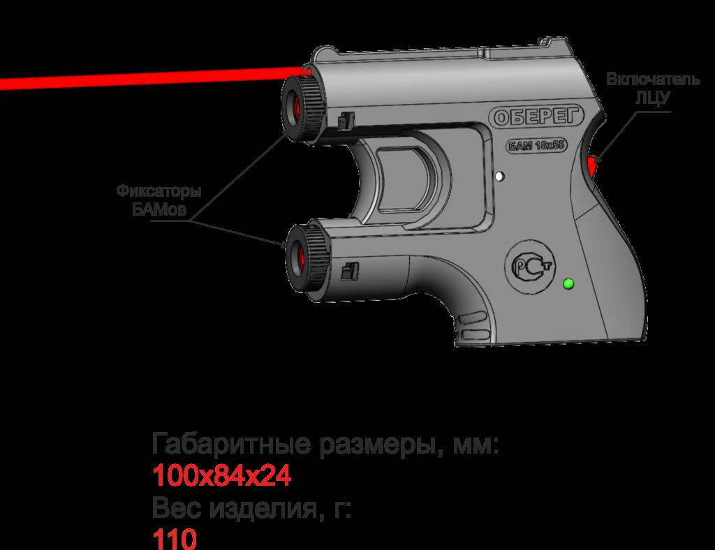«Мини-пистолет» для самообороны, или компактное устройство «Оберег» за 1 590 рублей